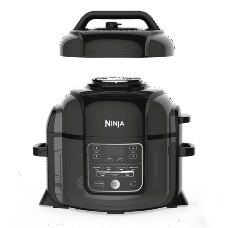 Ninja Foodi 6.5-Quart TenderCrisp Pressure Cooker, Black OP300 (Ancient Ninja)