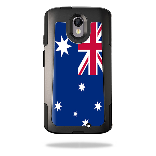 MightySkins Protective Vinyl Skin Decal for OtterBox Commuter Motorola Droid Turbo 2 wrap cover sticker skins Australian Flag