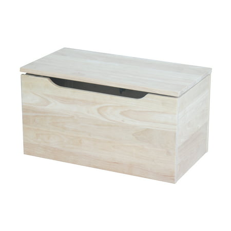 International Concepts Toy Storage Box, Unfinished
