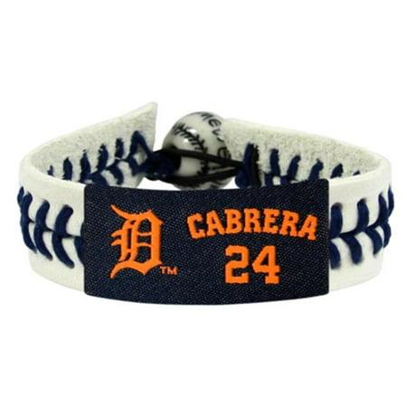 Detroit Tigers Bracelet Genuine Baseball Miguel Cabrera - image 1 of 1