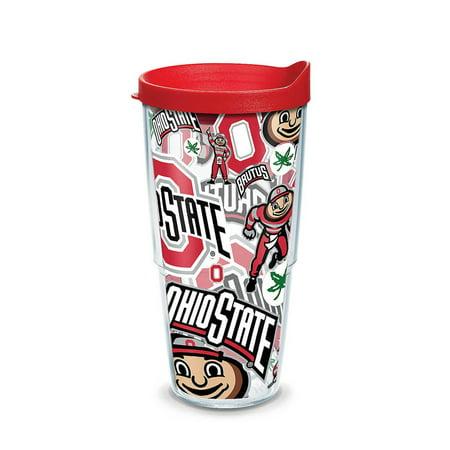 Ohio State Buckeyes NCAA 24oz Wrap Tumbler - Red