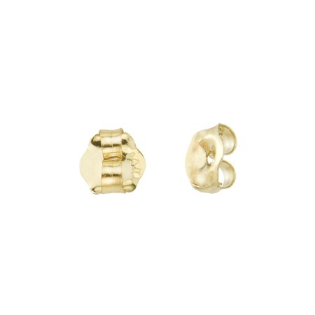 759da103e Direct-Jewelry - 14k Yellow Gold Replacement Earring Backs (1 Pair) -  Walmart.com