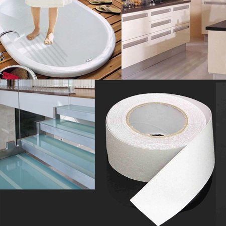 Grade Non Skid Safety Tape - 2Pcs Anti Slip Traction Tape Outdoor Non Skid Treads High Traction Friction Abrasive Adhesive Stairs Step