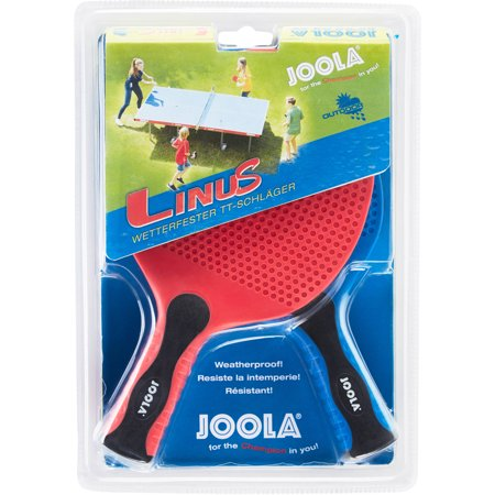 JOOLA Linus Indoor/Outdoor Table Tennis/Pong Racket Set