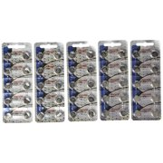50 Pack Maxell LR44 AG13 357 button cell battery NEW HOLOGRAM PACKAGE