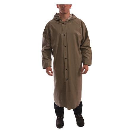 - TINGLEY C12168 Magnaprene Flame Resistant Rain Coat, Tan, XL