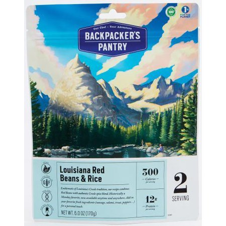 (Backpackers Pantry 701183 Louisiana Red Beans-rice 2p, Pack of 1)