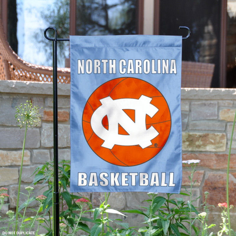 "North Carolina Tar Heels Basketball 13"" x 18"" College Garden Flag"