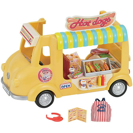 Dog Playset - Calico Critters Hot Dog Van