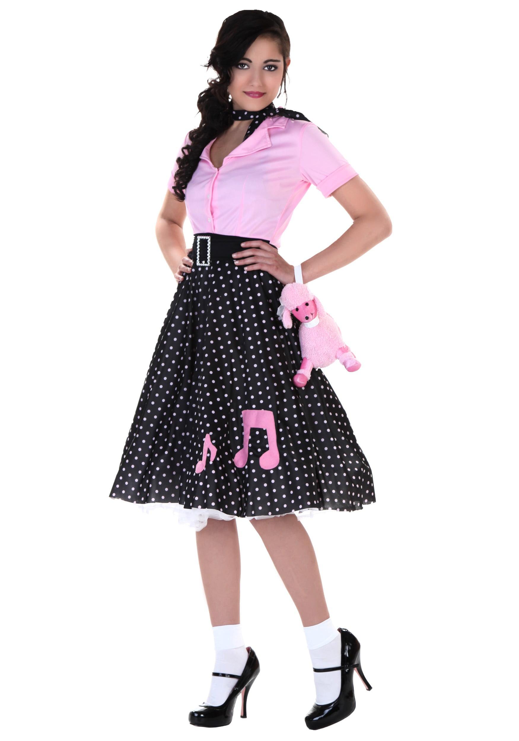 Sock Hop Cutie Costume - Walmart.com