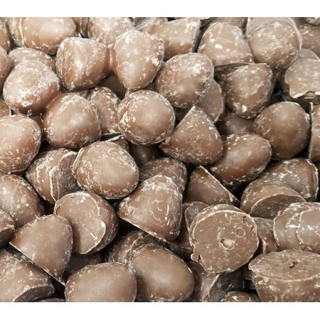 Old-Fashioned Milk Chocolate Creme Drops Candy, Sweet Vanilla Bite Size Candy, Bulk Pack 2 Pounds