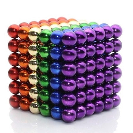 Large Magnets (5mm 216 pieces Large Magnetic Balls Building Blocks Sculpture Magnets Educational game Office Toy Intelligence Development Stress Relief Imagination gift)