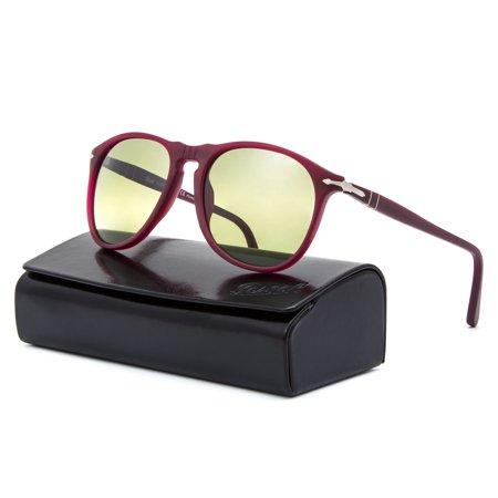 908bf13244 Persol - Persol 9649 Sunglasses 9021 83 Granato   Green Photochromic  Polarized 55 - Walmart.com