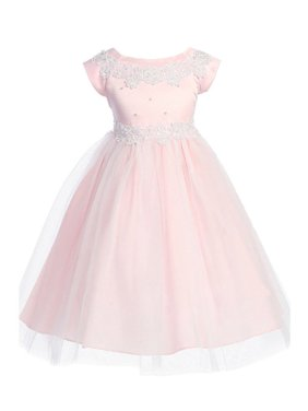 4f07a0ab3 Pink Big Girls Dressy Dresses - Walmart.com