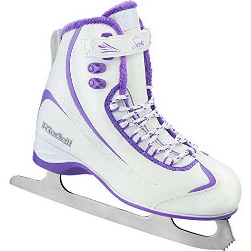 Riedell 625 2015 Model Figure Skates Soar (White Violet) by RIEDELL