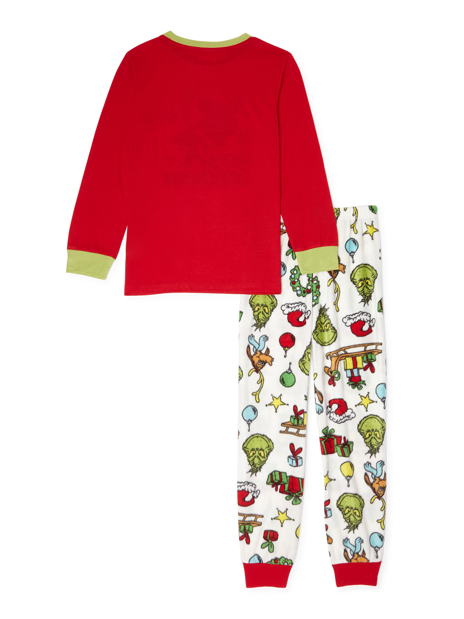 Dr Seuss The Grinch Christmas Pajamas Boy Girl Blanket Sleeper 12 Months 12M