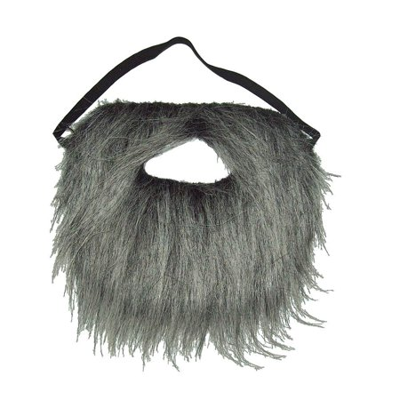 d3f40661d7e Grey Gray Pirate Beard Adult Mustache Moustache Facial Hair Costume  Accessory - Walmart.com