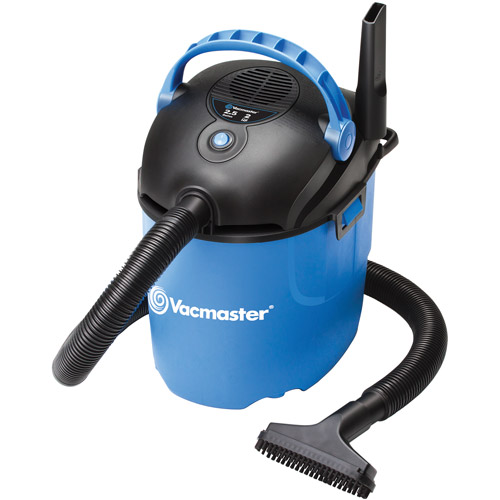 Vacmaster 2.5-Gallon 2.0-Peak HP Wet/Dry Vac, VP205