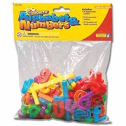 Educational Insights Magnetic Alphabet and Numbers