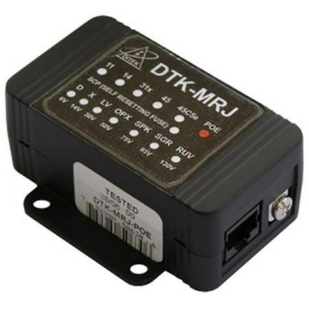Ditek DTK-MRJPOE Power Over Ethernet Surge Protector