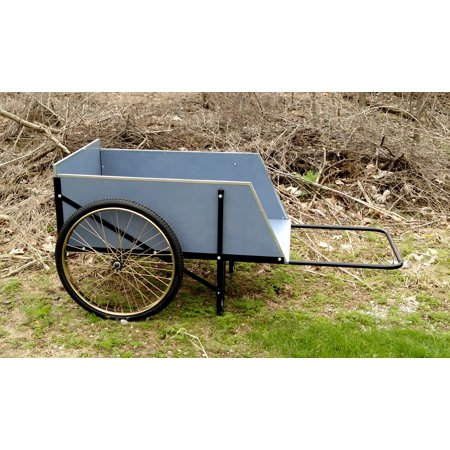 HEAVY-DUTY WOODEN UTILITY CART