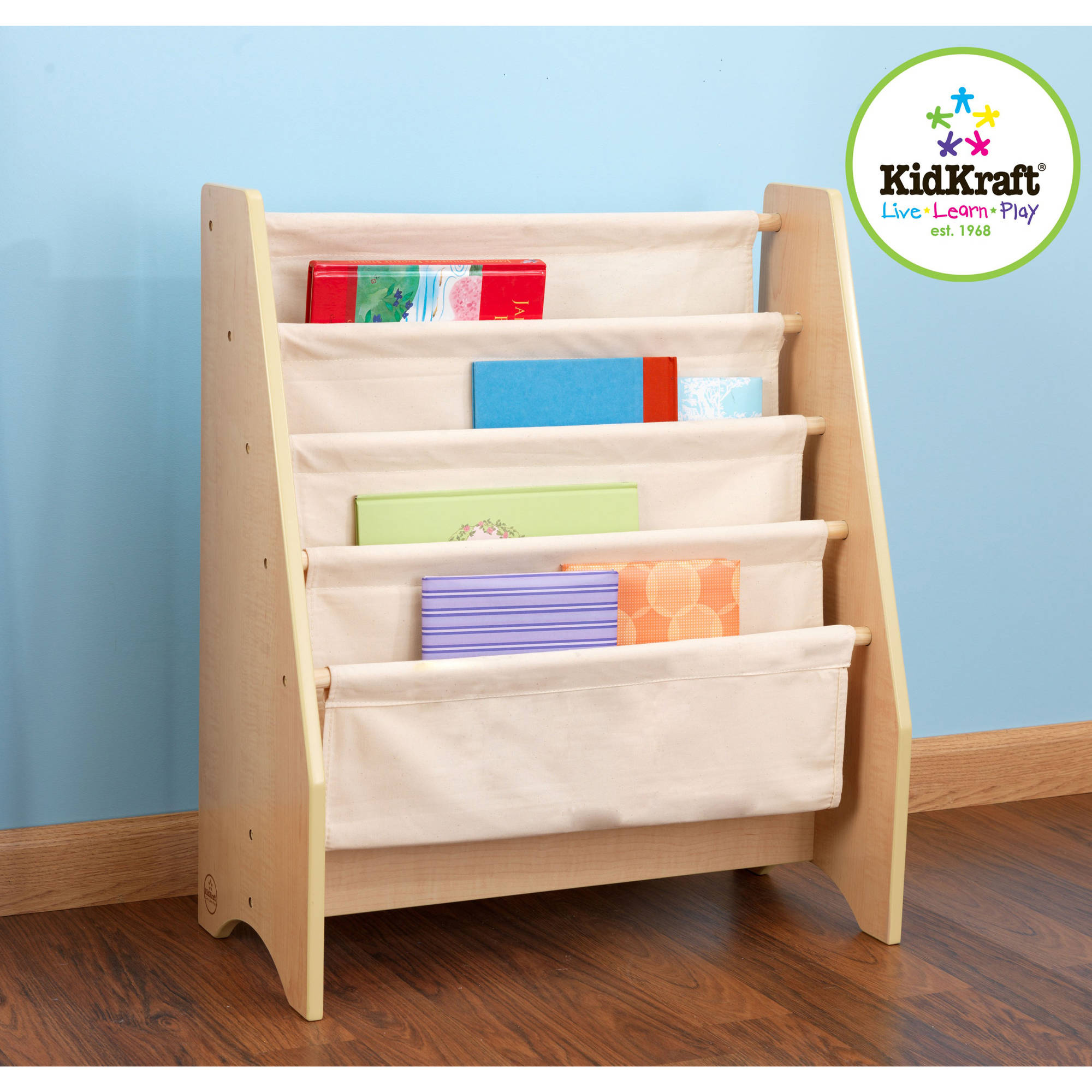 KidKraft - Sling Bookshelf, Multiple Colors