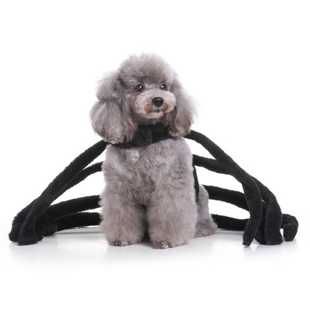 Mosunx Halloween Pet Dog Dresses Ghost Festival Dress Up Jacket Spider Section Clothes