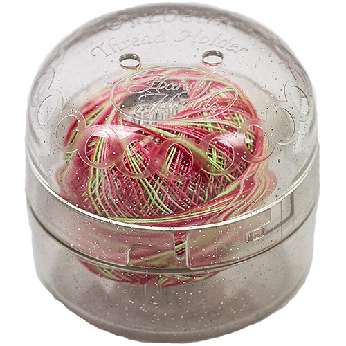 Handy Hands Lizbeth Thread Holder-Sparkle Clear Multi-Colored