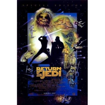 Pop Culture Graphics MOV265510 The Return of The Jedi Special Edition Movie Poster, 27 x 40 - image 1 de 1