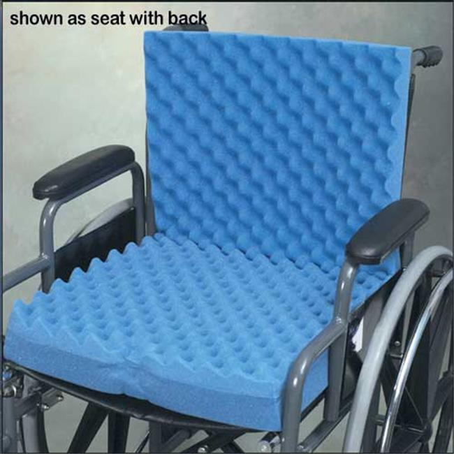 Eggcrate Wheelchair Cushion-16in x18in x3in - 1960