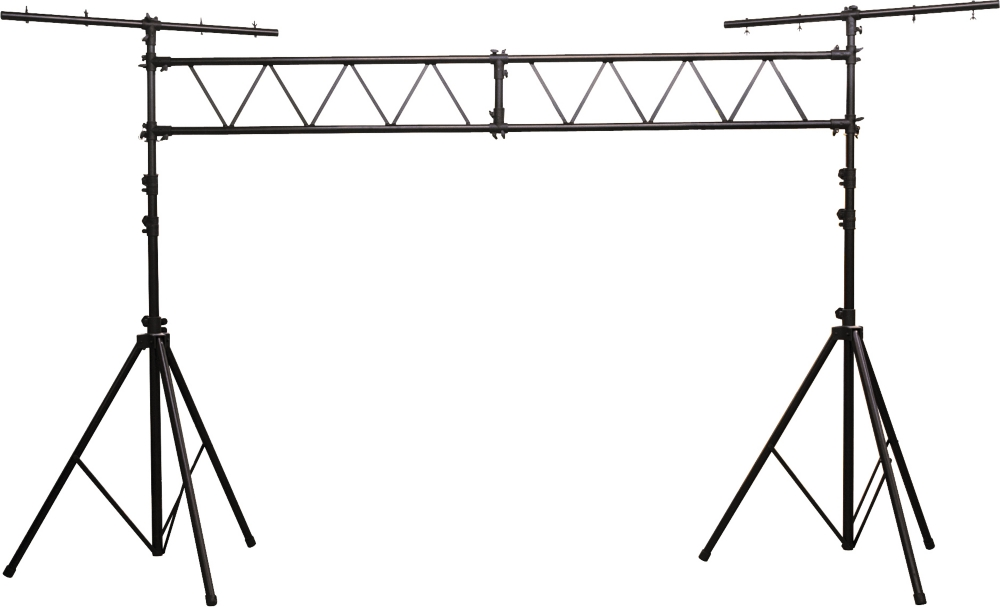 Musician's Gear Lighting Stand with Truss Black by Musician's Gear