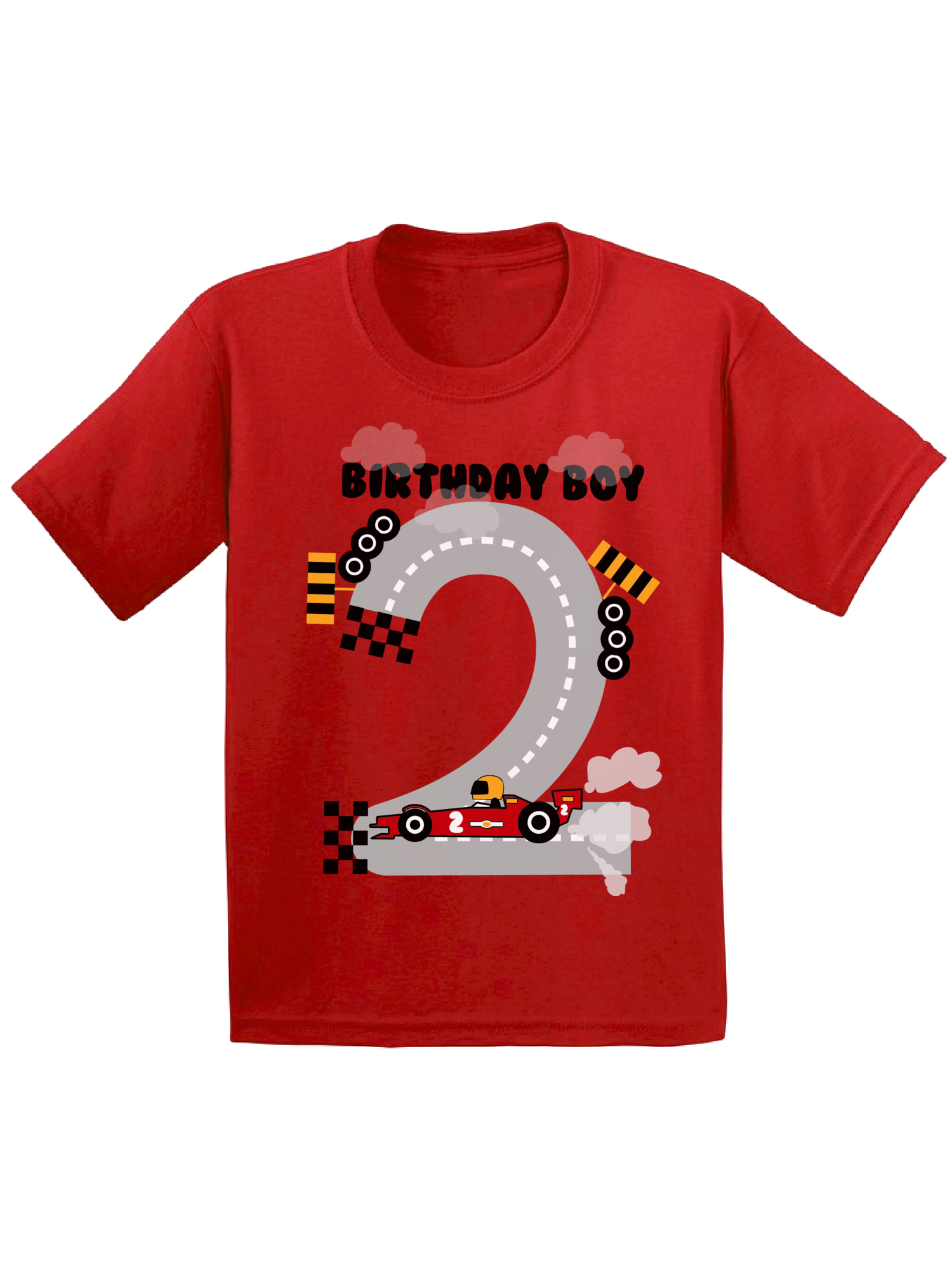 Funny Threadz Boys 1 Year Old Birthday Boy Toddler Shirt Birthday Candle Funny Threadz Kids White 2t Toddlers Walmart Com Walmart Com