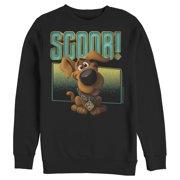 Scooby Doo Men's Scoob! Puppy Frame Sweatshirt