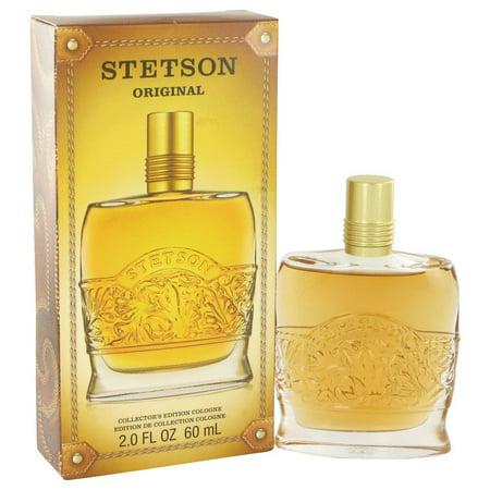 Coty STETSON Cologne (Collectors Edition Decanter Bottle) for Men 2 oz