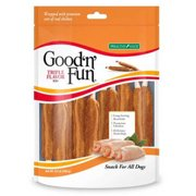 Good`n`Fun Triple Flavored Rawhide Ribs for Dogs, 8.4 oz