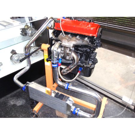 1988-2000 Honda D Series Turbo Kit Honda D15 D16 Civic CRX Del Sol Dx Cx HF Vx(450HP)