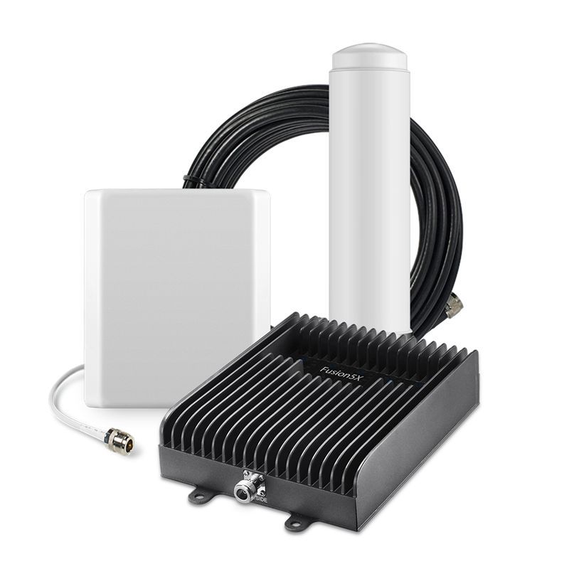 SureCall Fusion5X Voice, Text & 4G LTE Cell Phone Signal Booster Kit - OP