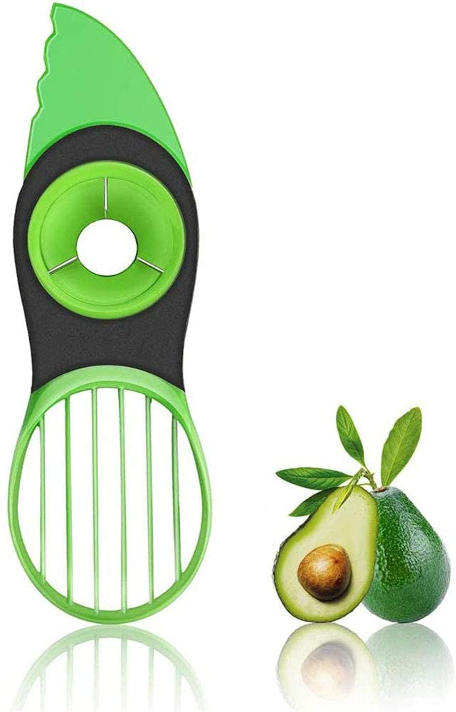 Twisted Chef 3-in-1 Avocado Slicer w//Pit Remover and Food Saver Combo