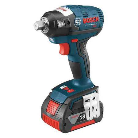 "Cordless Impact Wrench Kit, 1 2"" Drive, Bosch, IWMH182-01 by Bosch"