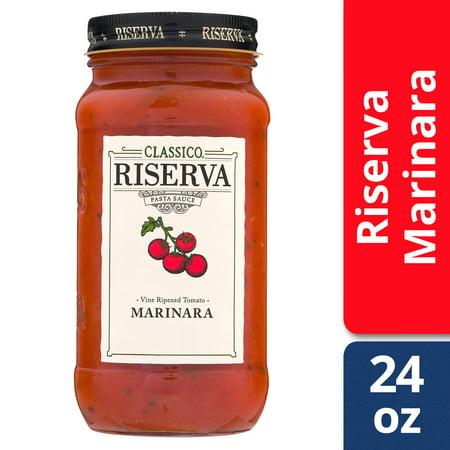 Classico Riserva Marinara Pasta Sauce, 24 oz Jar