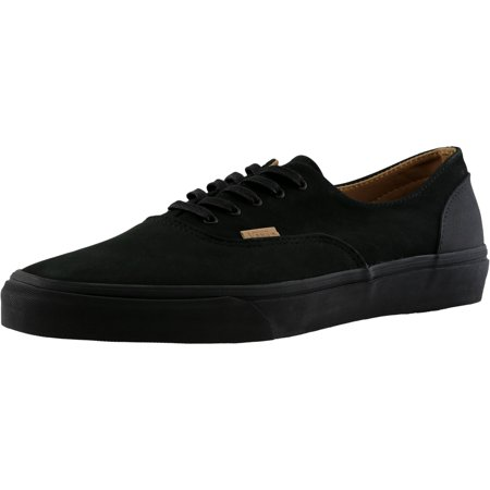 c00f2576c9 Vans - Vans Men s Era Decon Ca Mono Leather Black   Rubber Ankle-High  Skateboarding Shoe - 10M - Walmart.com