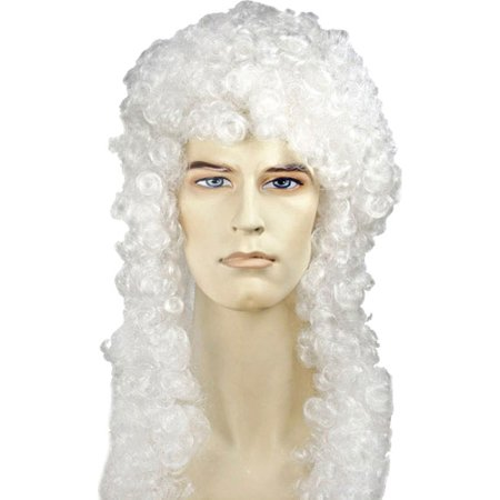 Morris Costumes Judge Wig Bargain White, Style LW240WT