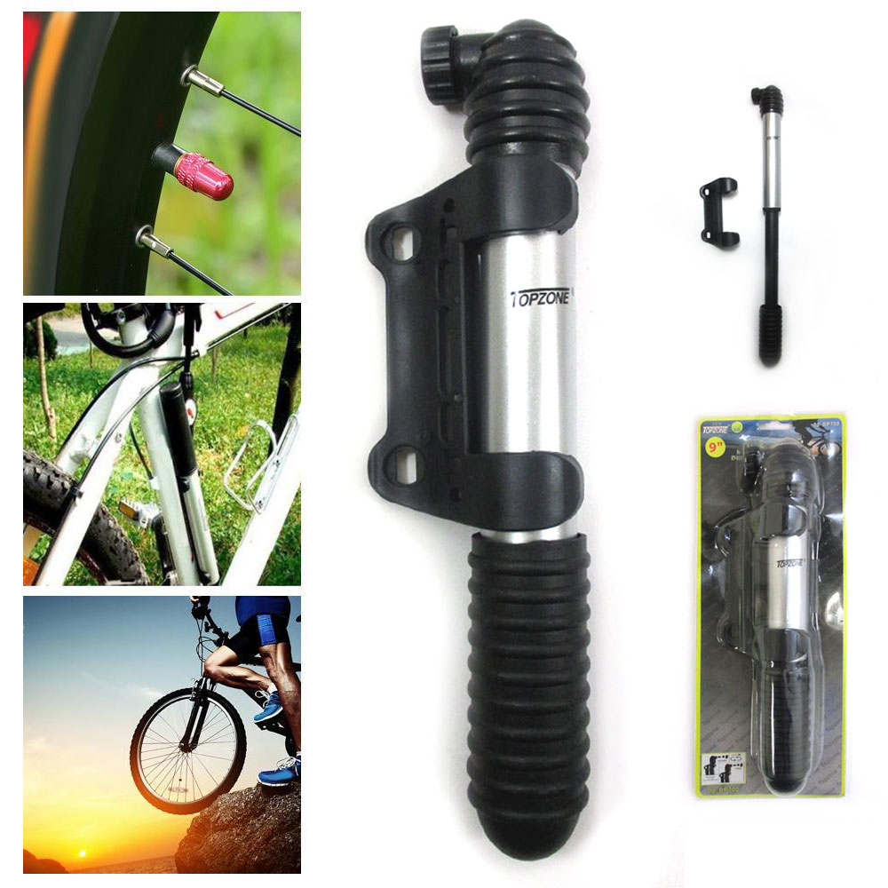 Portable Mini Bicycle Bike Floor Pum Tyre Inflator High Pressure 160PSI  W//  #fa