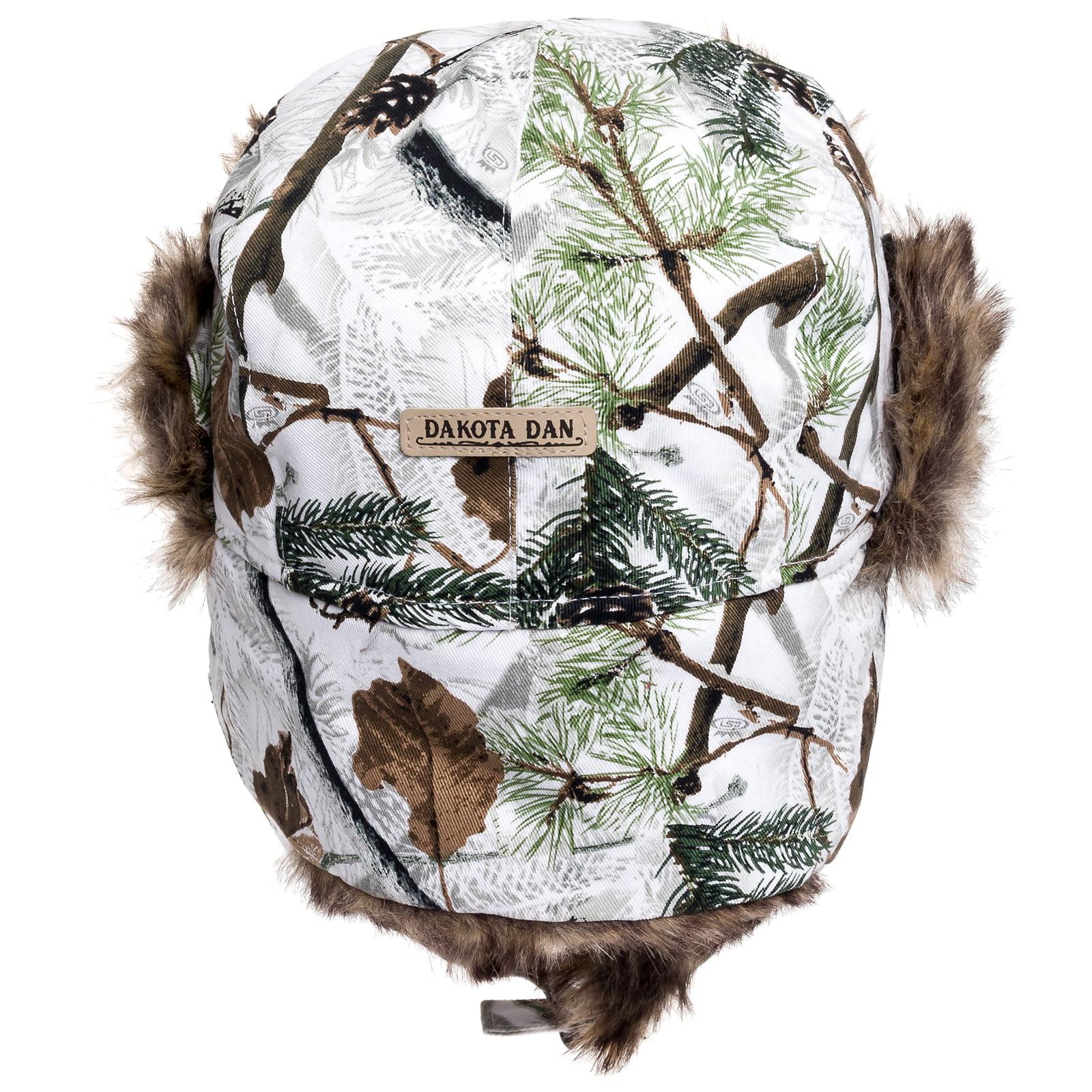 73f37ab44 Dakota Dan Trooper Ear Flap Winter Bomber Cap w/ Faux Fur Lining Hat NEW NWT