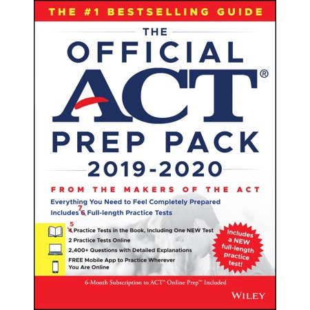The Official ACT Prep Pack with 7 Full Practice Tests (5 in Official ACT Prep Guide + 2