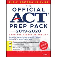 The Official ACT Prep Pack with 7 Full Practice Tests (5 in Official ACT Prep Guide + 2 Online)
