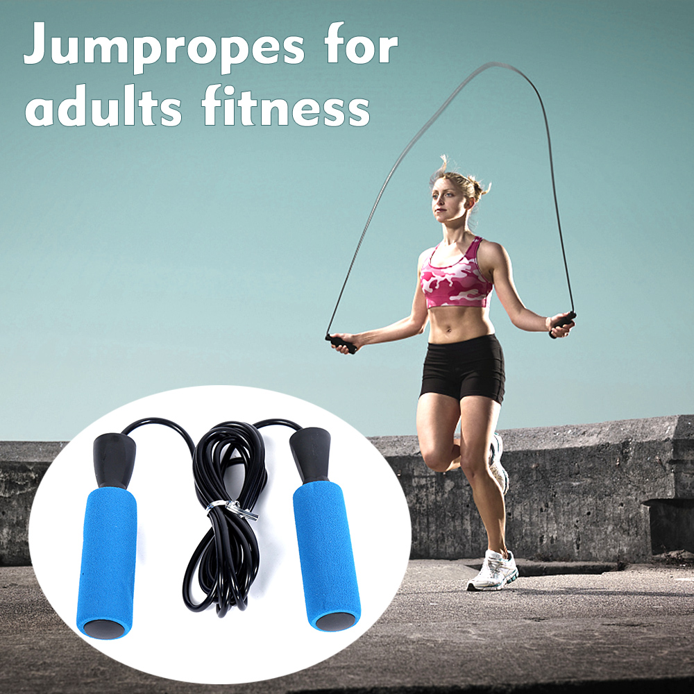 Adjustable Skipping Speed Rope Boxing Jumping Adult Girls Weight Loss Exercise