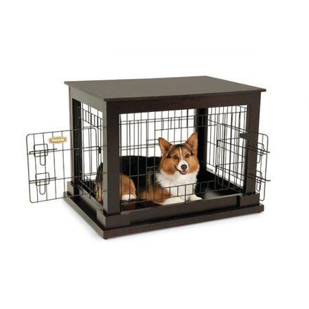 Petmate Indoor Wooden Wire Kennel - Walmart.com