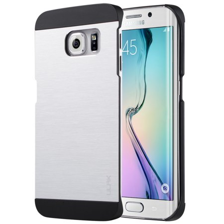 ULAK Galaxy S6 Edge Case, Thin Case with Plastic PC Brushed Aluminum Design for Samsung Galaxy S6 Edge (5.1