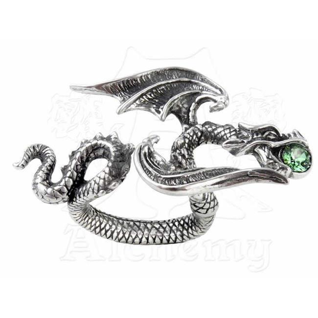 Alchemy Gothic R190Q-T Starchaser Ring Size Q-T - 8.5-9.5